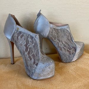 Platform dress heels